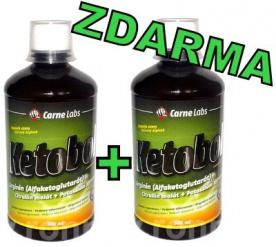 Carne Labs Ketobol 500 ml 1+1 ZDARMA