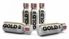 FA Gold High Protein Shot 120 ml - ovocný punč VÝPRODEJ