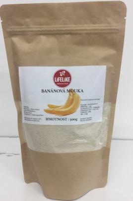 Lifelike mouka 500g - banánová PROŠLÉ DMT