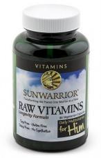 Sunwarrior Raw Vitaminy pro muže 90 kapslí