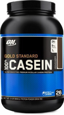 Optimum Nutrition 100% Casein Protein 908g - cookies & cream PROŠLÉ DMT