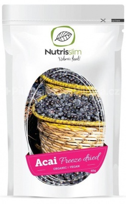 NUTRISSLIM ACAI BERRY POWDER BIO 60g