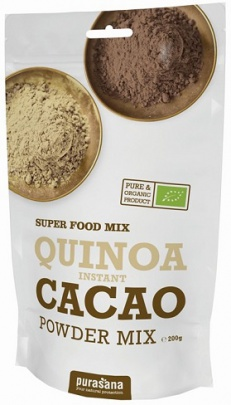 PURASANA QUINOA CACAO POWDER MIX 200g