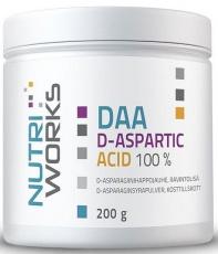NutriWorks DAA D-ASPARTIC ACID 100% 200g