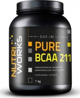 NUTRIWORKS PURE BCAA 2:1:1 1000g - natural