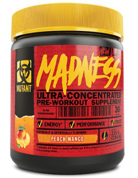 Mutant Madness 225 g + BSN Pill Box ZDARMA