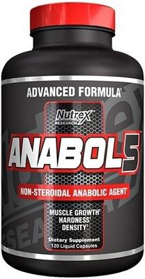 Nutrex Anabol 5 Black 120 kapslí