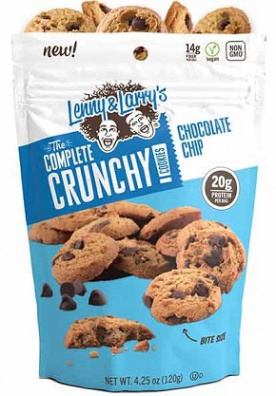 Lenny&Larry's Complete Crunchy Cookie 1 bag Chocolate Chip 120g
