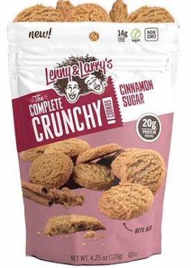 Lenny&Larry's Complete Crunchy Cookie 1 bag Cinnamon sugar 120g