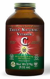 HealthForce Truly Natural Vitamin C 270g