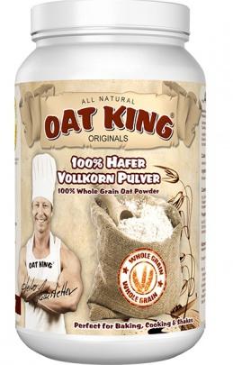 LSP Oat King 100% Ovesný celozrnný prášek (Hafer Vollkorn Pulver) 1000 g