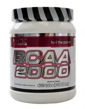 Hitec Nutrition BCAA 2000 400 tablet PROŠLÉ DMT