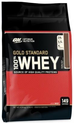 Optimum Nutrition 100% Whey Gold standard 4540 g