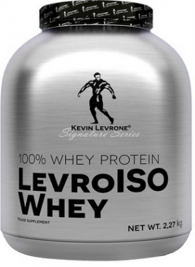 Kevin Levrone LevroISO Whey 2270 g - coffee frappe