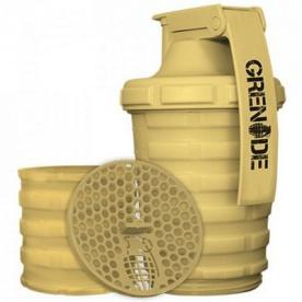 Grenade Šejkr 600 ml s dávkovačem - pískový