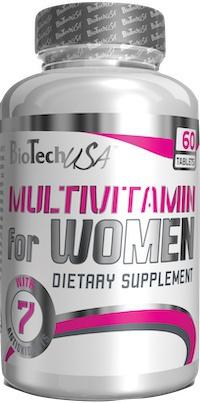 BiotechUSA Multivitamin for Women 60 tablet
