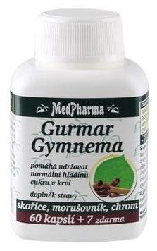 MedPharma Gurmar Gymnema 67 kapslí