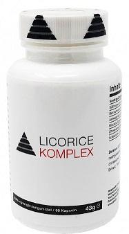 Ypsi Licorice Komplex 60 kapslí - lékořice