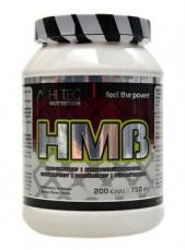 HiTec Nutrition HMB 750 mg 200 kapslí