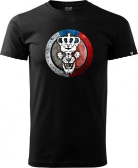 Tričko Team Tkadlčík černé
