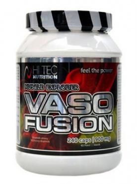 HiTec Nutrition Vasofusion 900 mg 240 kapslí
