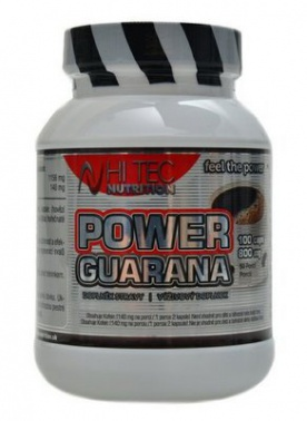 HiTec Nutrition Power Guarana 100 kapslí