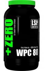 LSP +Zero WPC 80 1000 g - bez příchuti
