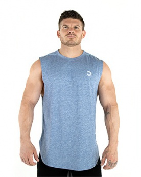 Bulk Powders Performace tank top navy(modrá)