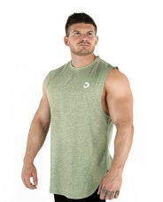 Bulk Powders Performace tank top zelená