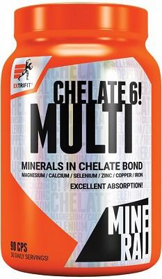 Extrifit Multimineral Chelate! 6 90 kapslí