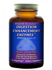 Sunwarrior Digestion Enhancement Enzymes 120 kapslí