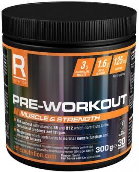 Reflex Pre-Workout 300 g - ovocný mix PROŠLÉ DMT