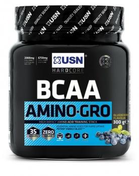 USN BCAA Amino-Gro 300g - ovocná směs VÝPRODEJ