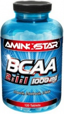 Aminostar BCAA 2:1:1 1000mg 120 tablet