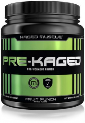 Kaged Muscle PRE-Kaged 640 g - jablko VÝPRODEJ