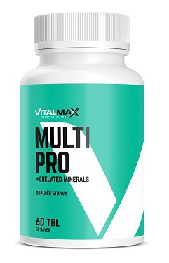 Vitalmax MULTI PRO + Chelated minerals 60 tablet