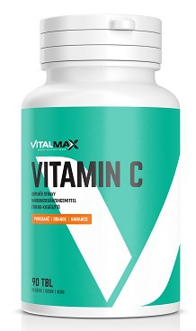 Vitalmax Vitamin C 500mg 90 tablet - pomeranč