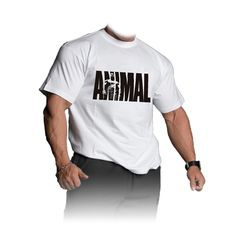 Universal triko Animal Iconic T-Shirt bílé - XL