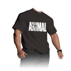Universal triko Animal Iconic T-Shirt černé - XL