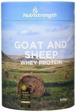 Nutristrength kozí a ovčí whey protein 500g