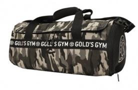 Gold's Gym Barrel Bag sportovní taška - maskáčová