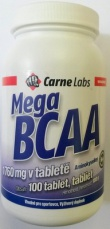 Carne Labs Mega BCAA 1760mg 100 tablet