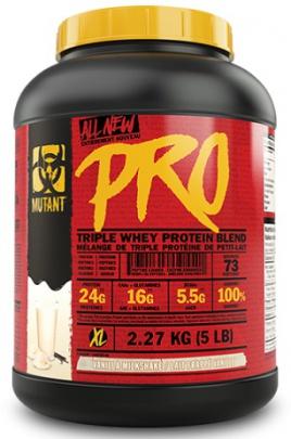 Mutant Pro 2,27 kg + šejkr černo červený 700ml ZDARMA
