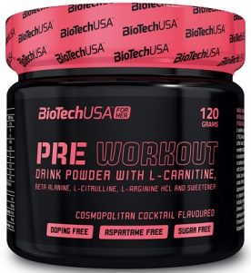 BiotechUSA Pre Workout For Her 120 g