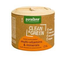 Purasana Multi-vitamins & minerals (multivitamíny a minerály) 60 tablet