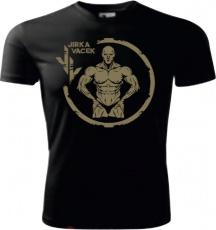 Tričko Jirka Vacek (merch) pánské triko krátký rukáv černá