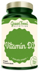 Green Food Vitamin D3 60 kapslí