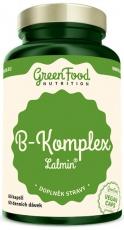 GreenFood B-Komplex Lalmin 60 kapslí