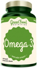 GreenFood Omega 3 120 kapslí