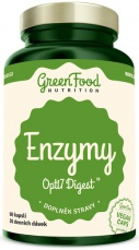 Green Food Enzymy Opti7 Digest 90 kapslí